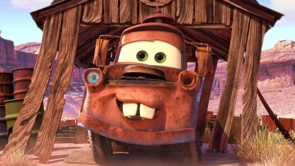 Picture of Martin from Cars 3.