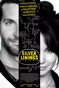 Poster for the Silver Linings Playbook movie in English