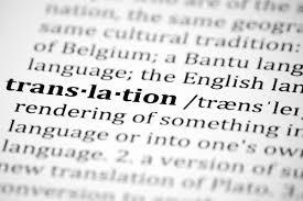 Translation, Localization, Definition, Dictionary