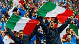 Italian translation can help reach millions of customers such as these football fans.
