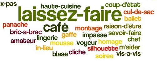 French words used in English.